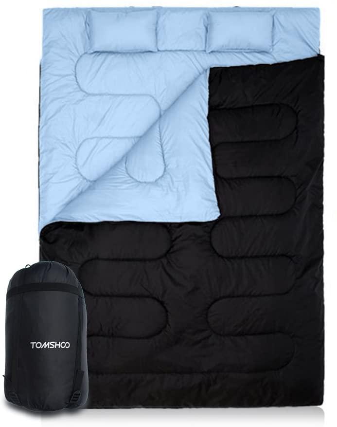 sac de couchage deux places