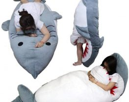 sac couchage requin