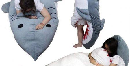 sac couchage requin