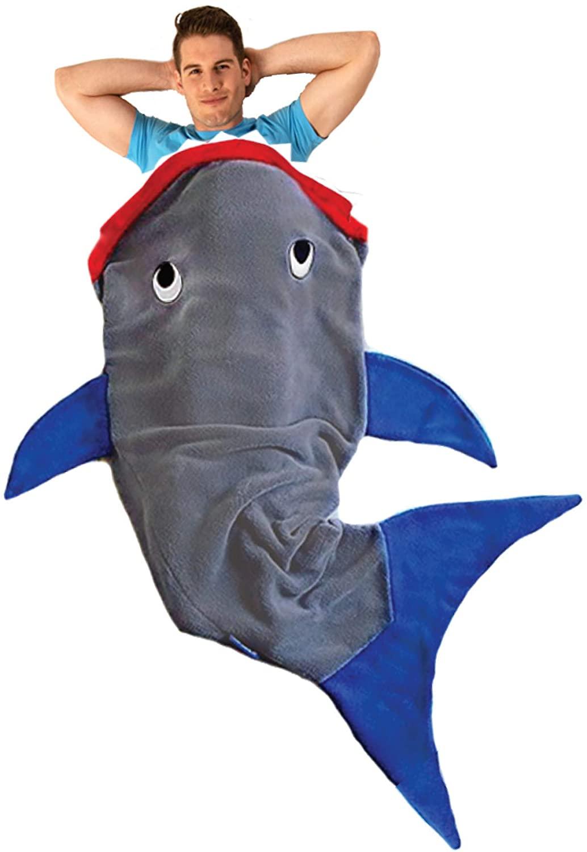 sac de couchage requin