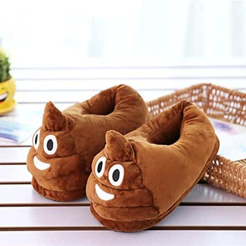 chaussons poo caca