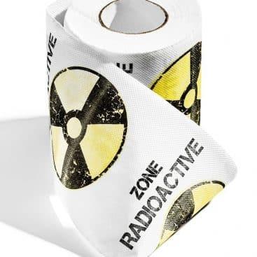 papier toilette insolite zone radioactive