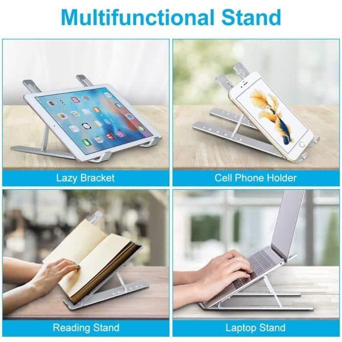 support ordinateur portable table