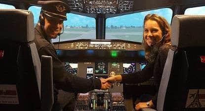 carte cadeau simulateur avion de ligne boeing airbus