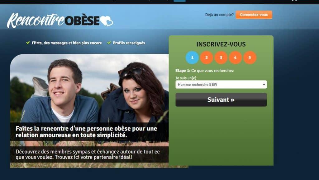 site rencontre obese