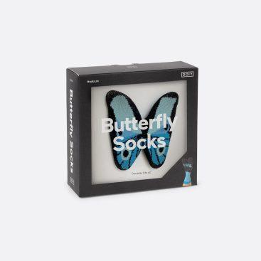 chaussettes papillon