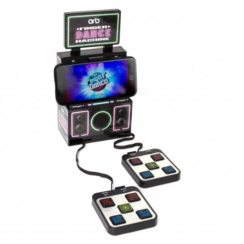 jeu video arcade danse avec les doigts
