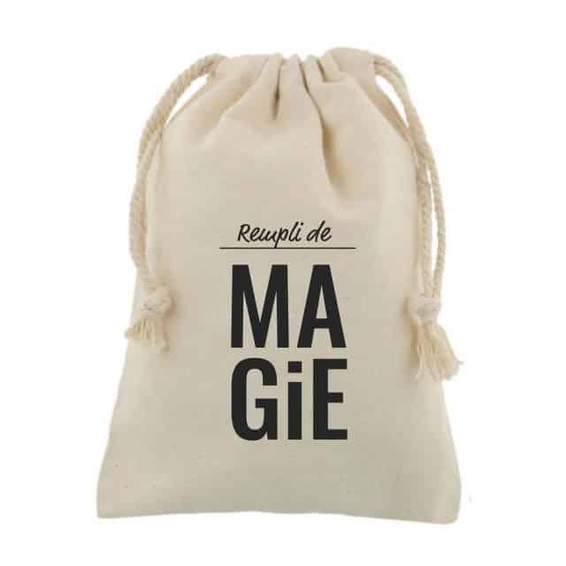 sac cadeau tissu