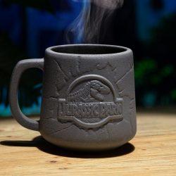 mug jurassic park relief