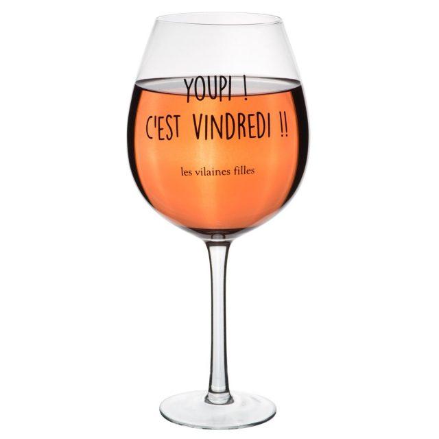 verre à vin insolite drole vindredi